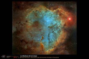 CP12: La nébuleuse de la trompeBernard Michaud Association des Astronomes Amateurs d'Auvergne